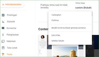 Cara Mengatasi Widget Blog Tidak Tampil di Versi Seluler / Mobile
