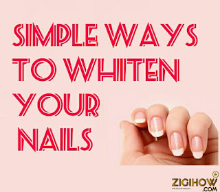 HOW TO WHITEN YOUR FINGER NAILS 1
