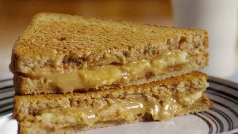 Delicious Grilled Peanut Sandwich