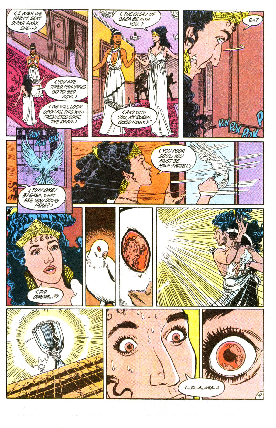Read online Wonder Woman (1987) comic -  Issue #54 - 10