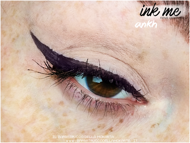 ANKH APPLICAZIONE INKME EYELINER NEVE COSMETICS REVIEW RECENSIONE