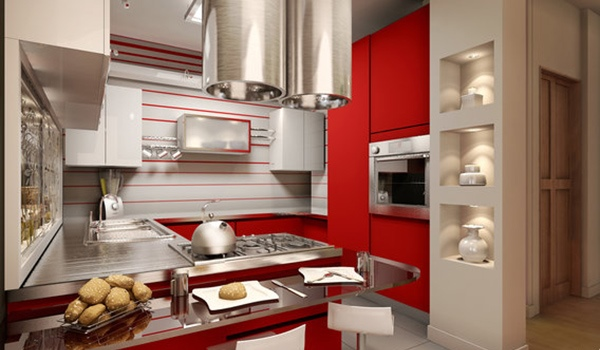 Dapur partisi modern