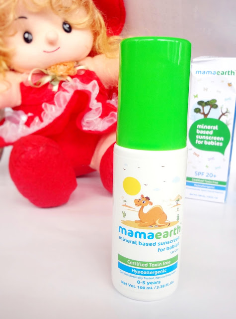 Mama earth Mineral Based Sunscreen for babies