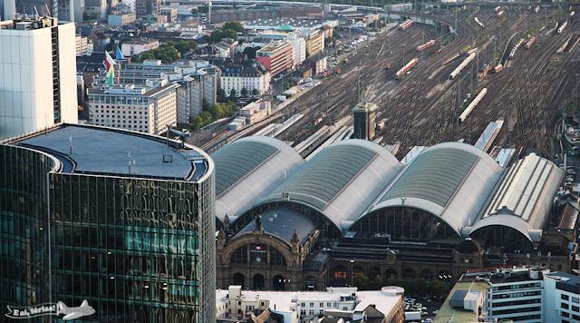 Estação Hauptbahnhof de Frankfurt