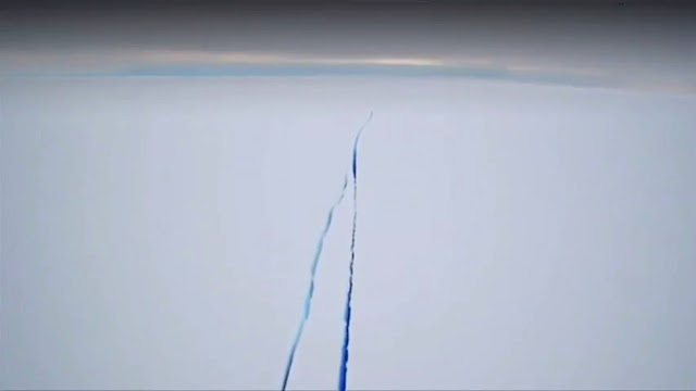 Antarctic Ice Shelf Rift Grows as Massive Chunk Tries to Break Free