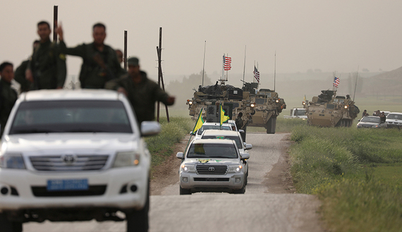 Turkey angry, stoic with US decision to arm Syrian Kurds