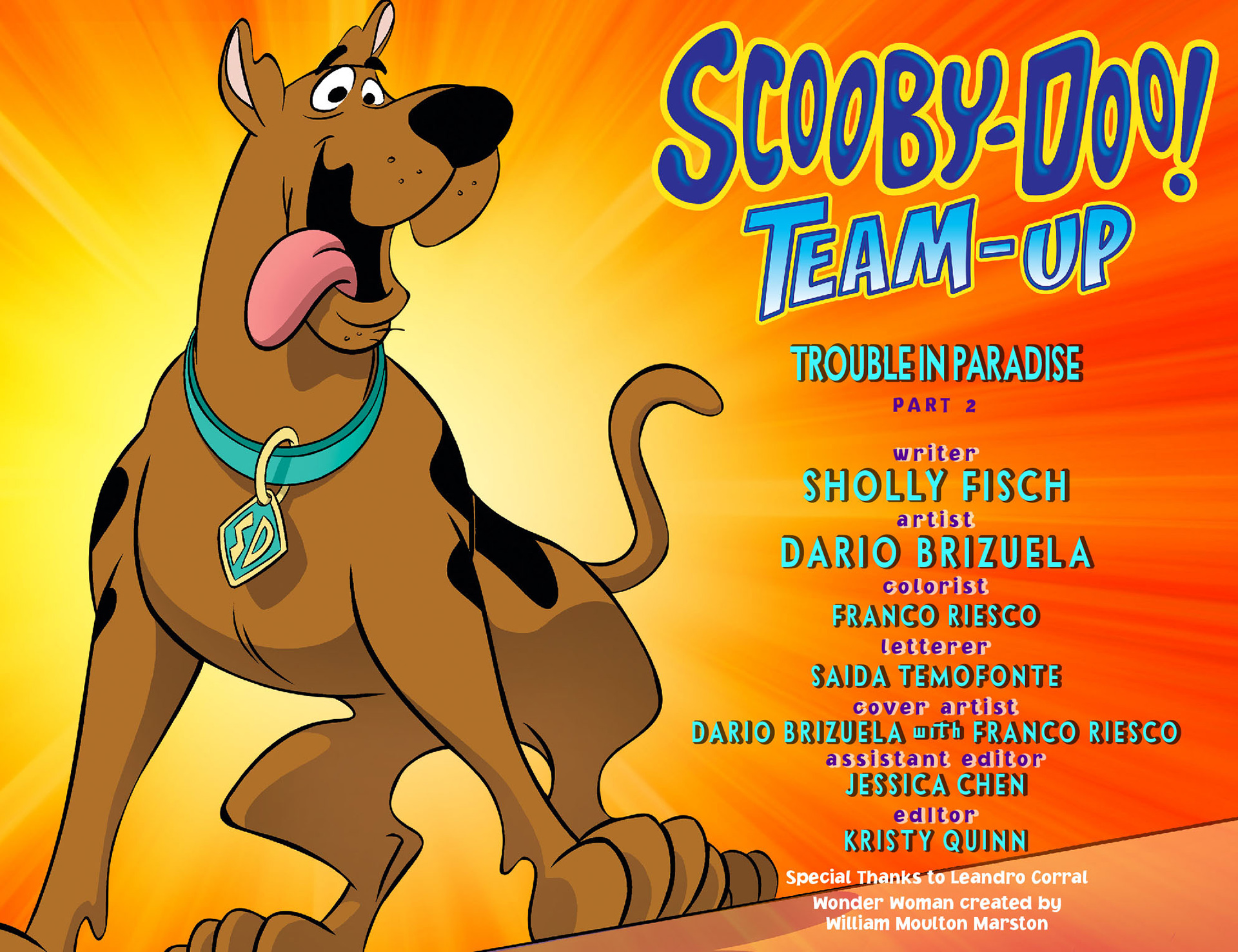 Read online Scooby-Doo! Team-Up comic -  Issue #10 - 2