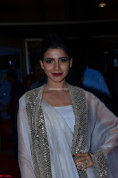 Samantha Ruth Prabhu cute in Lace Border Anarkali Dress with Koti at 64th Jio Filmfare Awards South ~  Exclusive 025.JPG