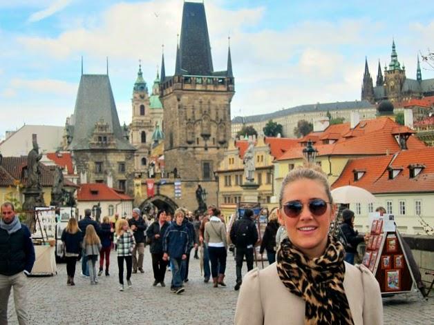 Karlsbron i Prag
