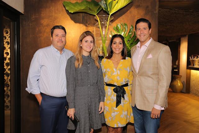 Gustavo Turull, Mónica Sánchez, María Fernanda Arredondo y Julio Lopez.