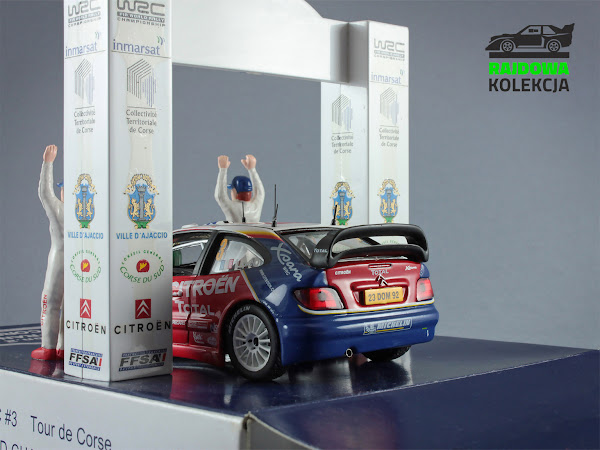 IXO RAM159 Citroen Xsara WRC  Rallye de France  World Champion 2004 Diorama