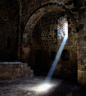 A shaft of light