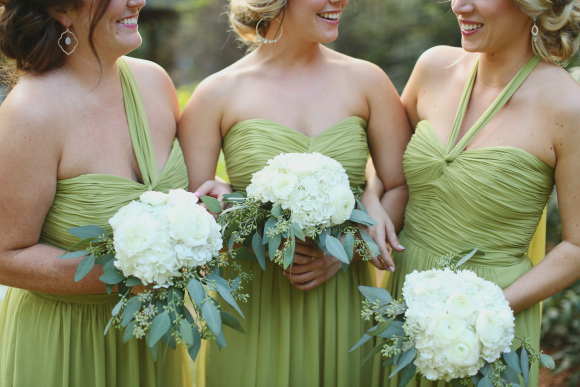 Bridesmaids Bouquets (Photo: J. Woodbery Photography)