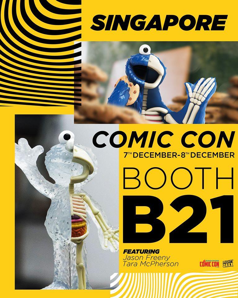 Mighty Jaxx For Singapore Comic Con 2019 Dec 7 8