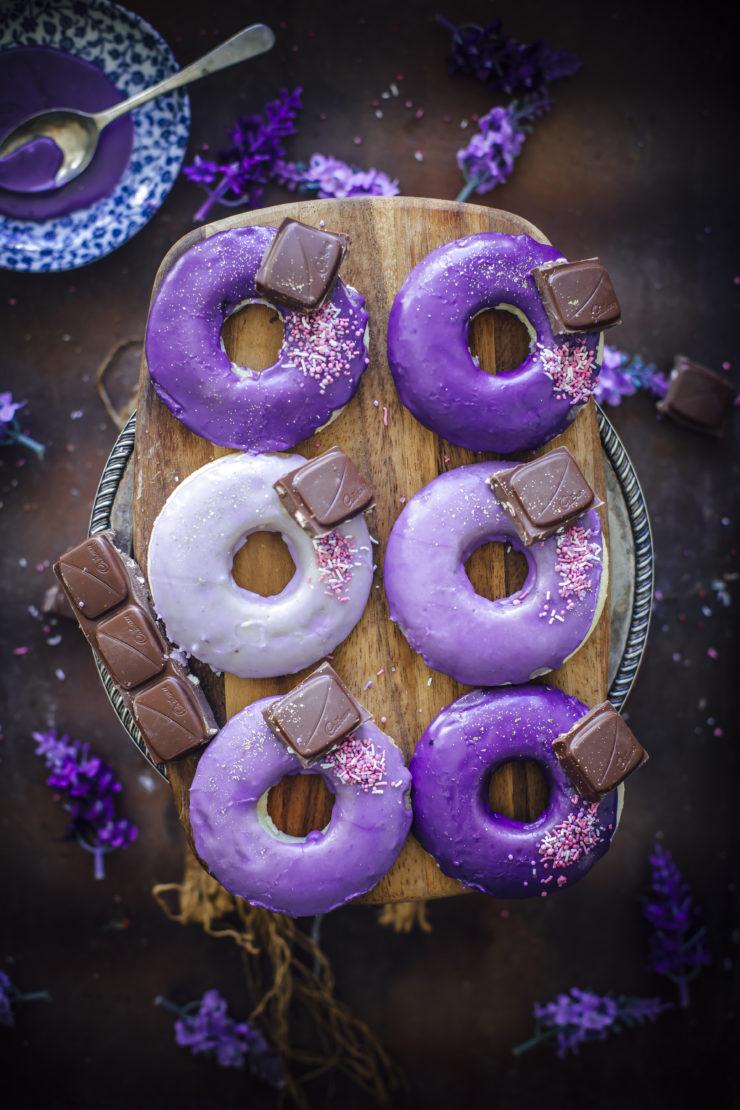 Baked Lavender Doughnuts Recipe