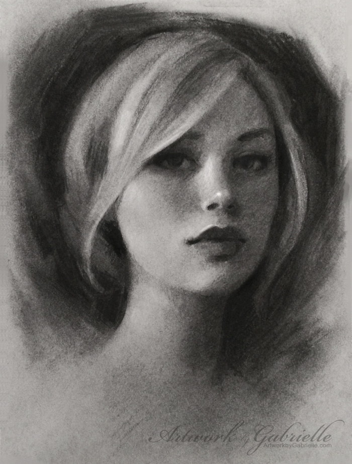 01-Gabrielle-Brickey-Strength-and-Purpose-through Charcoal-Portraits-www-designstack-co