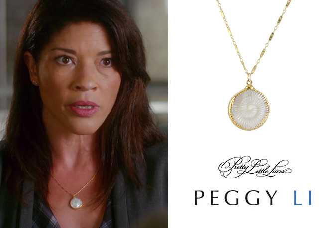 Klea Scott Necklace Pretty Little Liars