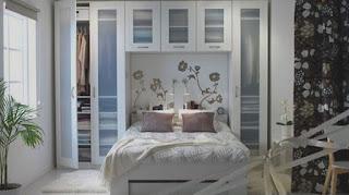 desain interior kamar tidur kecil