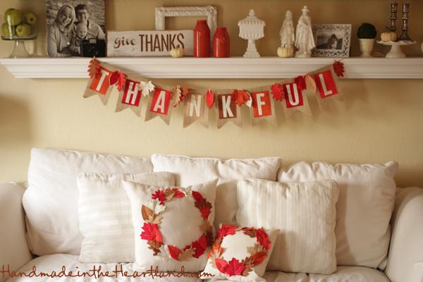 DIY Thanksgiving Home Decor