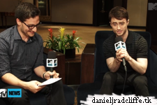 """Updated: TIFF 2013: MTV News """"Daniel Radcliffe Brushes Of 'Fifty Shades' Snub"""""""