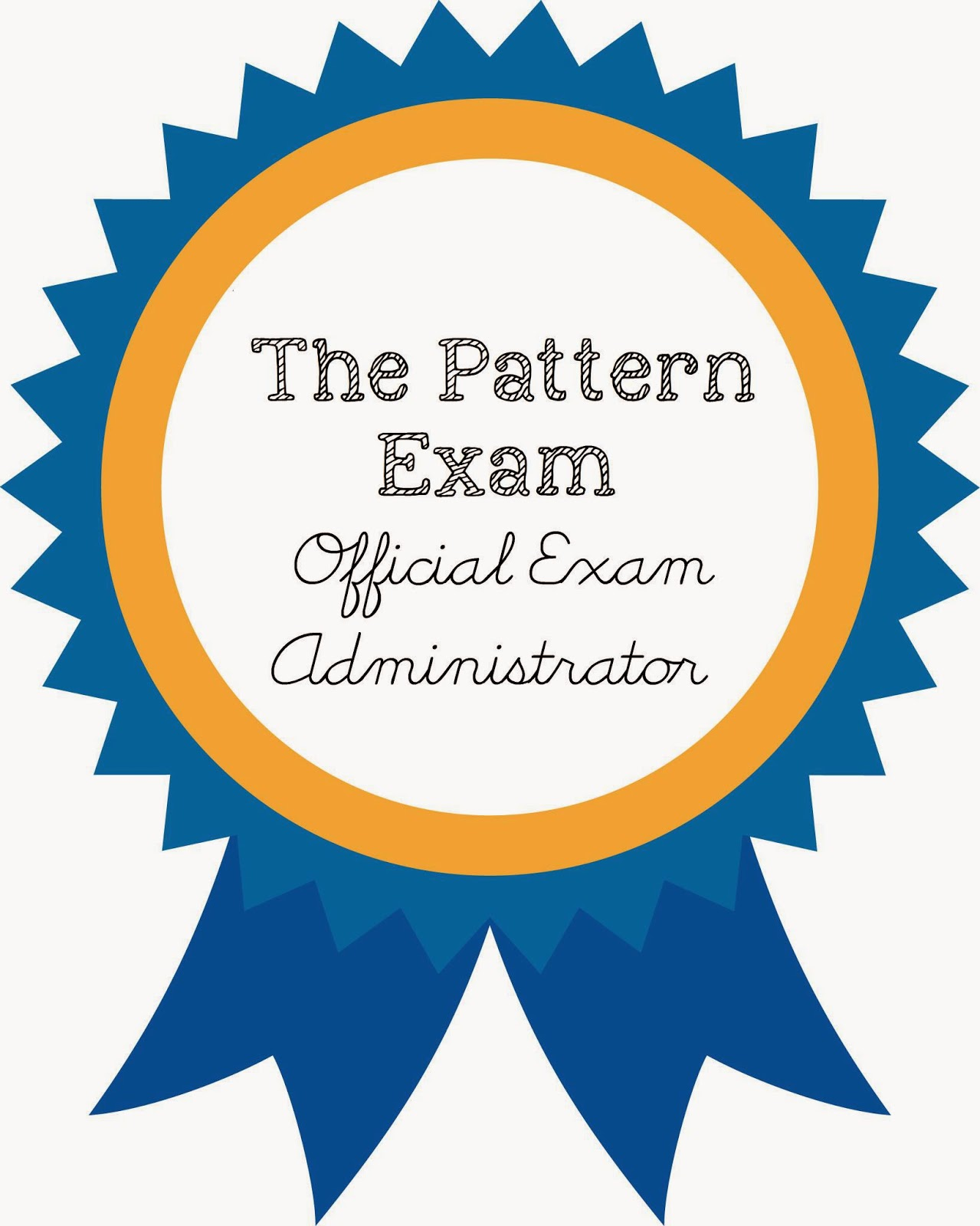 The Wholesome Mama: {The Pattern Exam} Coming Soon