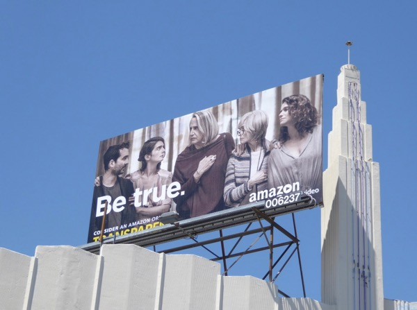Transparent Be True Emmy billboard