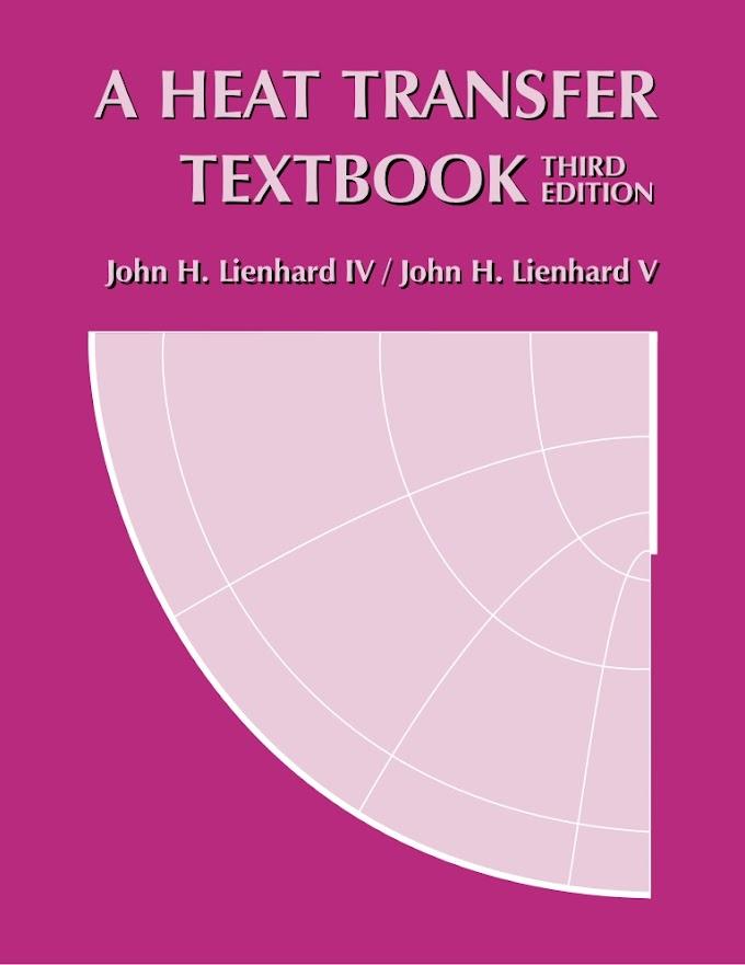 [PDF] Download A Heat Transfer Textbook by John H Lienhard Pdf
