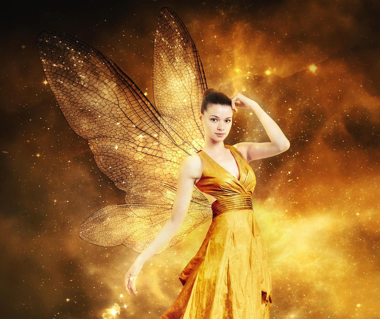 Beautiful Fairy Angel Wallpaper