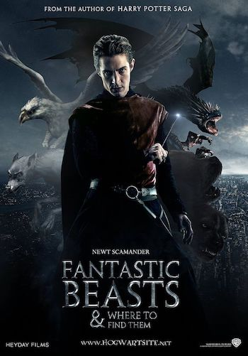 Free Download Fantastic Beasts and Where to Find Them 2016  720p Dual Audio Hindi Bluray