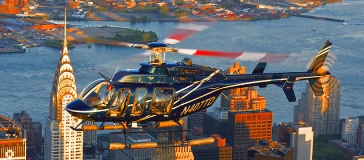 Grand Island - Passeio de helicóptero em Nova York