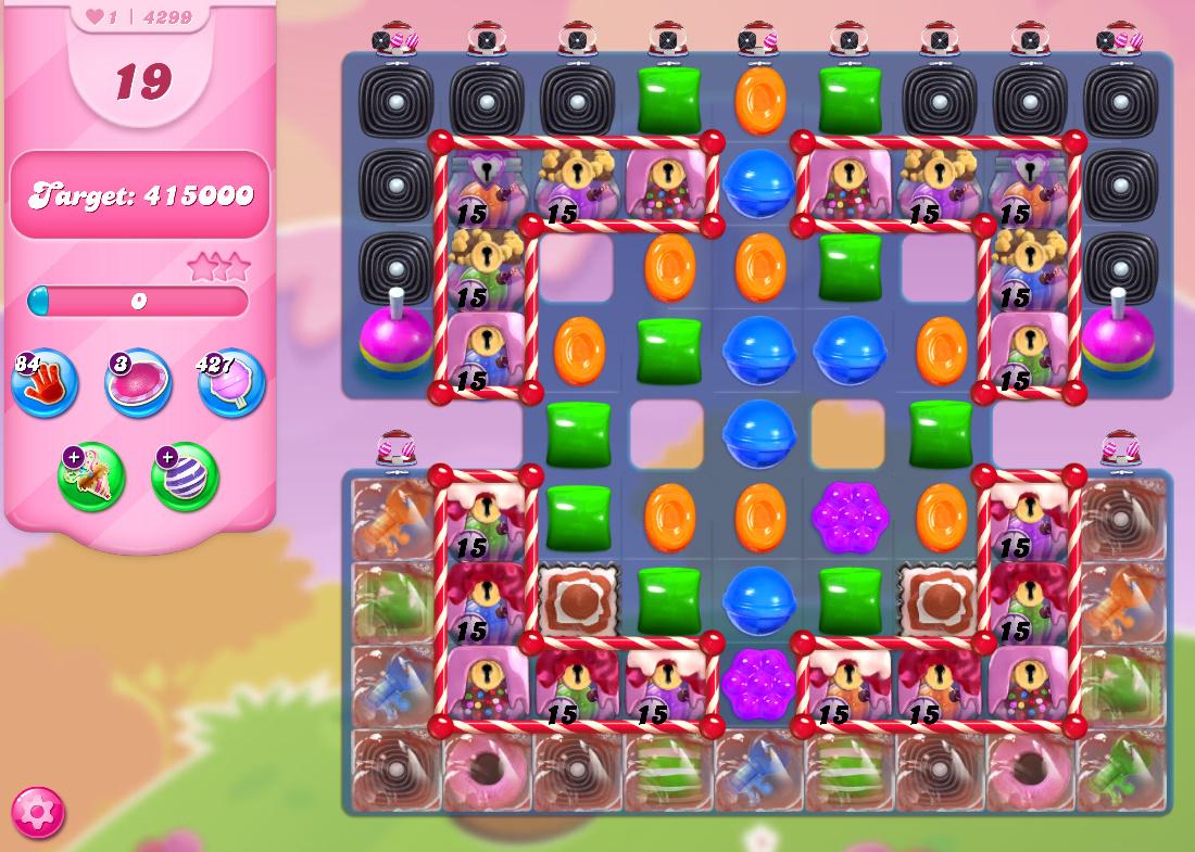 Candy Crush Saga level 4299