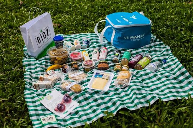 Cesta trouxe produtos selecionados do Le Manjue e da Verde Campo