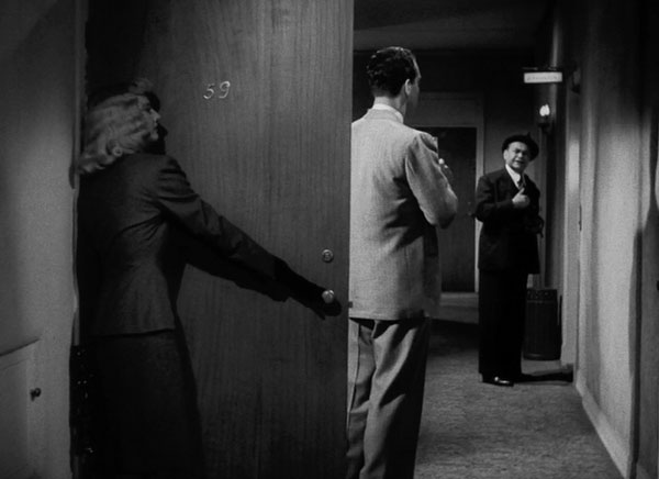 Edward G. Robinson as Keyes in Double Indemnity