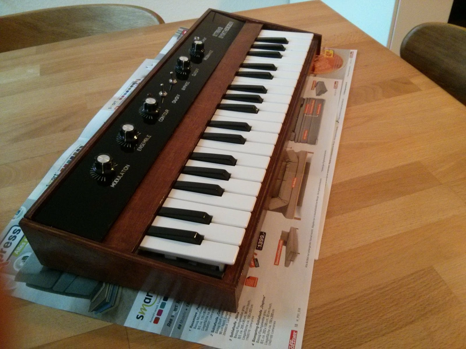 how to make arduino synth