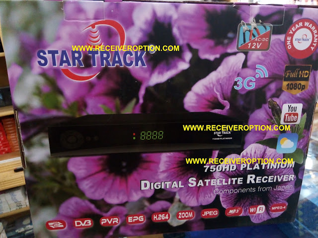 STAR TRACK 750HD PLATINIUM RECEIVER FLASH FILE