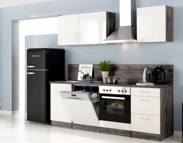 Küchenzeile Ohne Kühlschrank