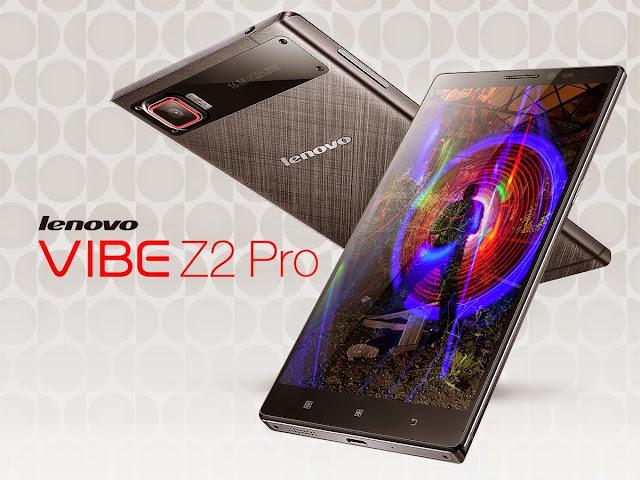 Harga Spesifikasi Lenovo VIBE Z2 Pro