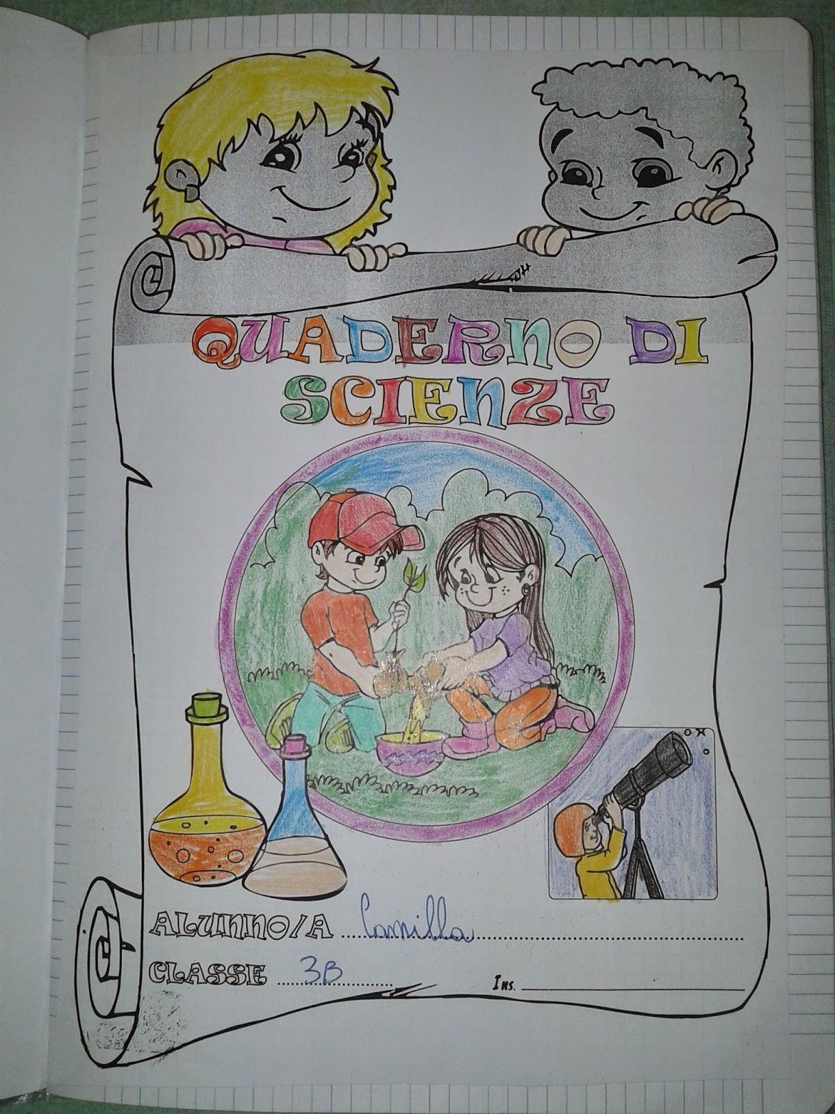 Amato LA MAESTRA MARIA TI SALUTA: SCIENZE CLASSE TERZA LJ36