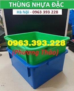 Bán Thùng nhựa đặc đựng dụng cụ trong nhà xưởng tại Hà Nội