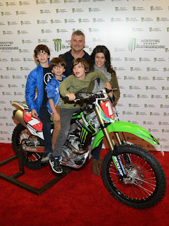 Shane McMahon And Wife And Children JPG