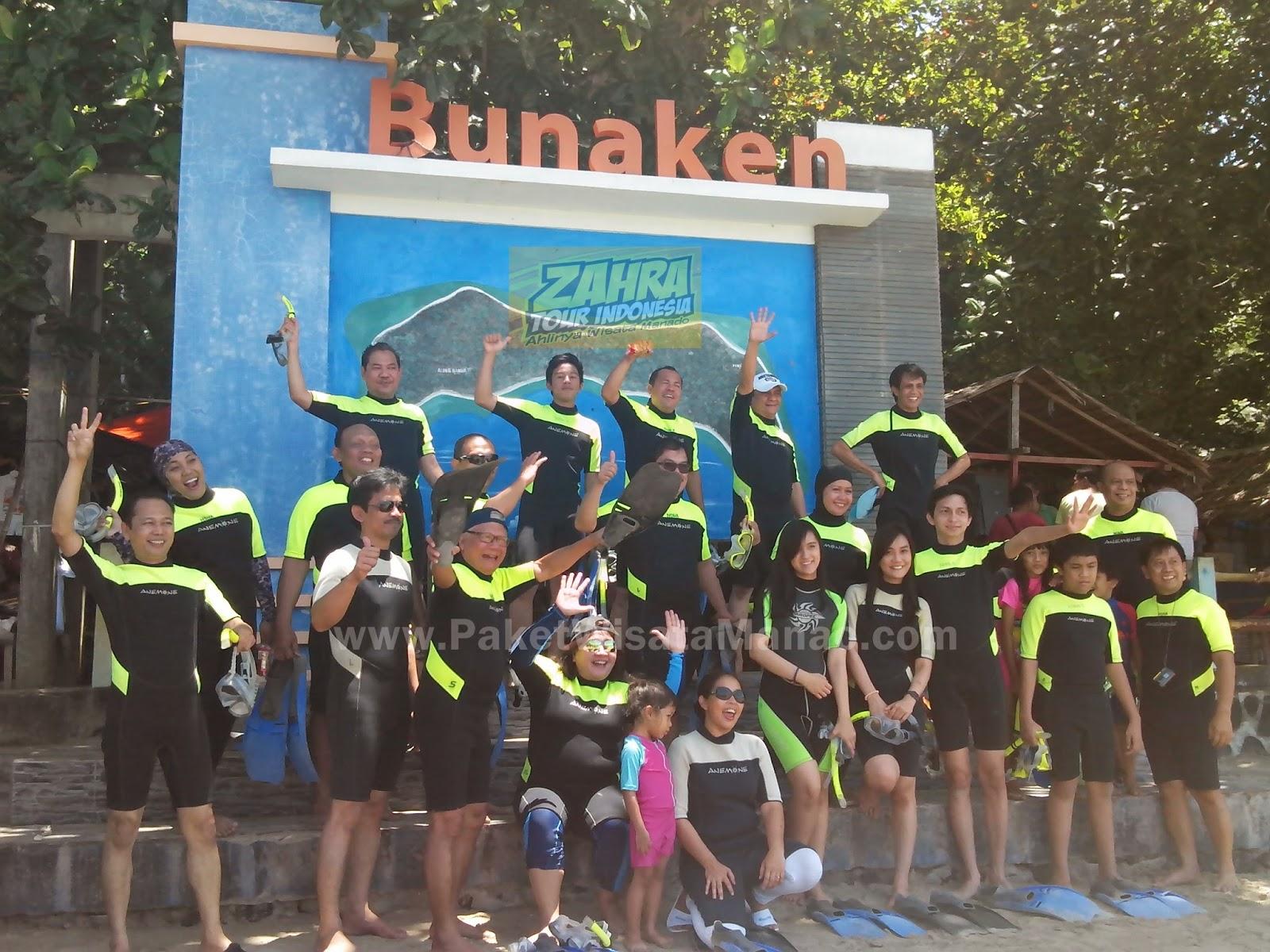Tour Wisata Bunaken Dokter Kandungan Indonesia