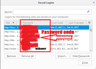 Langkah 7 Cara Melihat Password Yang Tersimpan Di Browser Mozilla Firefox