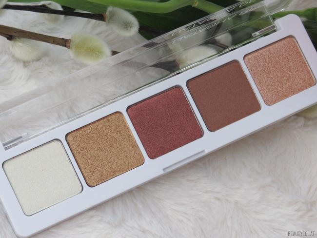 Natasha Denona Eyeshadow Palette 5 Palette 04 formulation