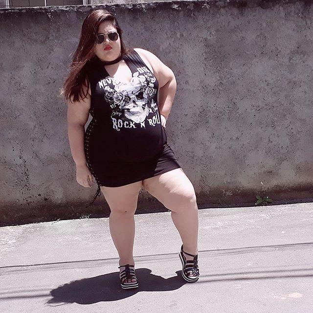 gorda blogueira roupa moda modelo