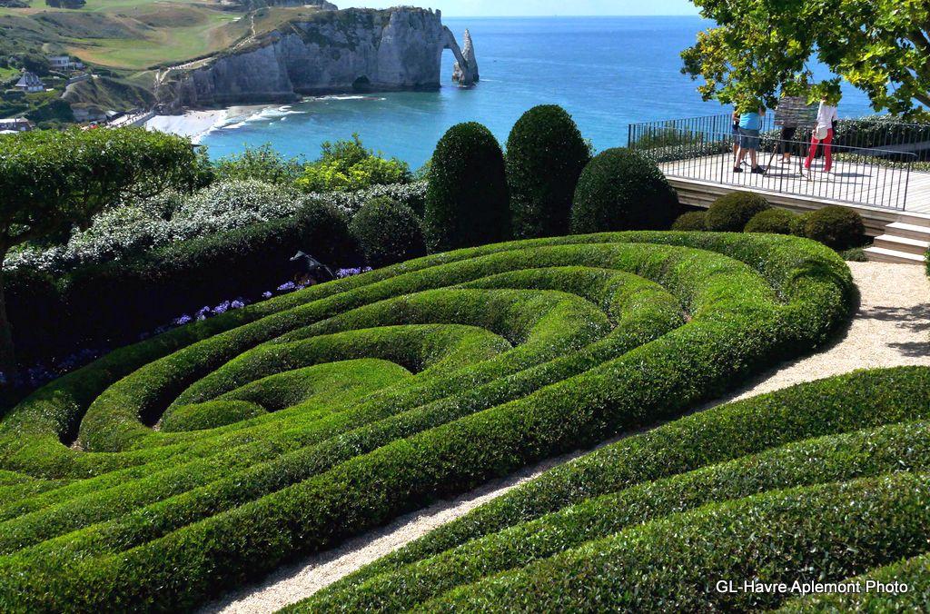 Havre aplemont photo les jardins d 39 etretat - Jardin japonais le havre ...