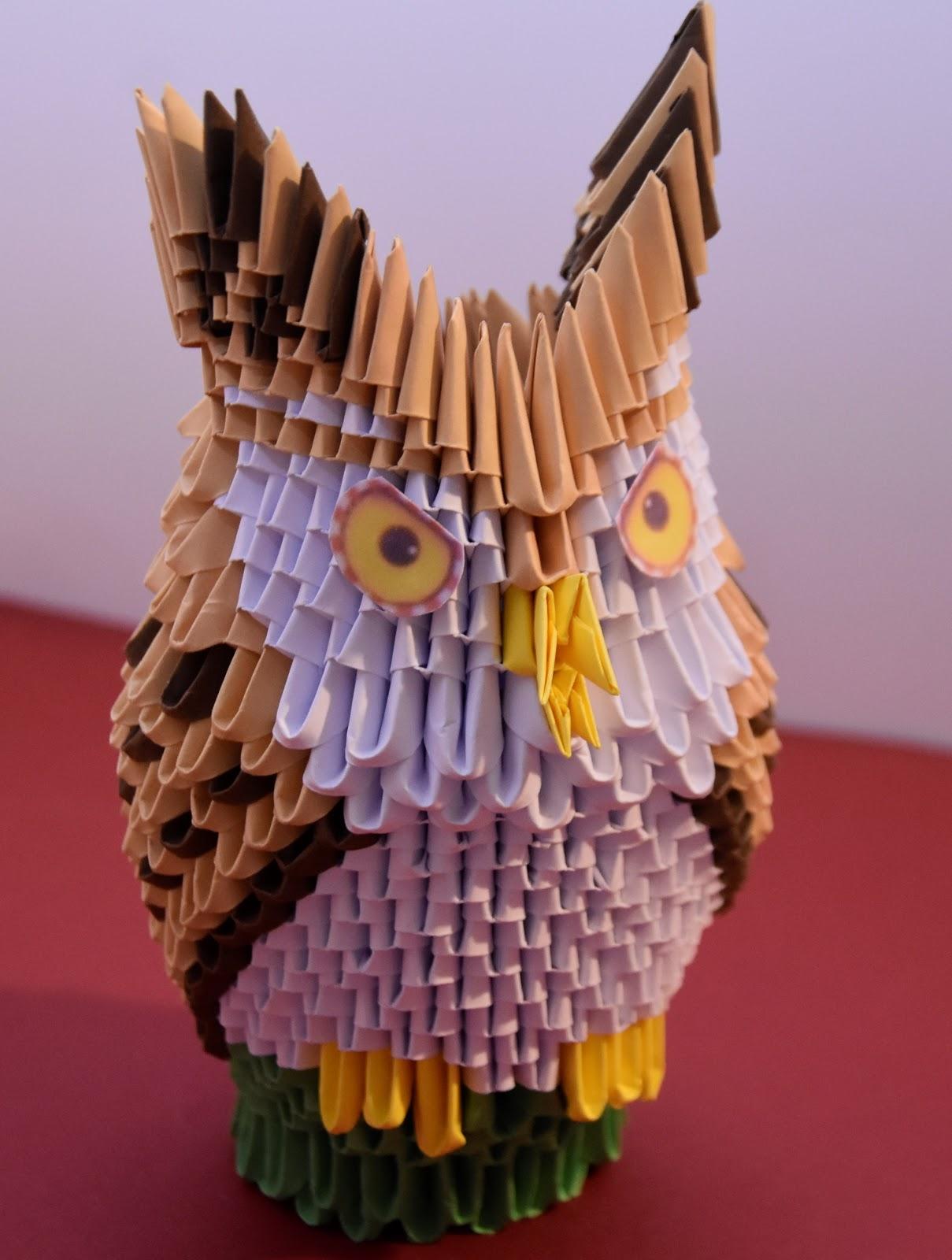 Les Bricoles D Hélène Origami 3d