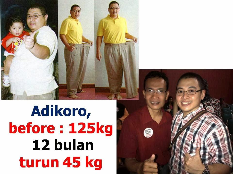 Turun Berat Badan Cepat dalam Sebulan Turun 5kg hingga 10kg