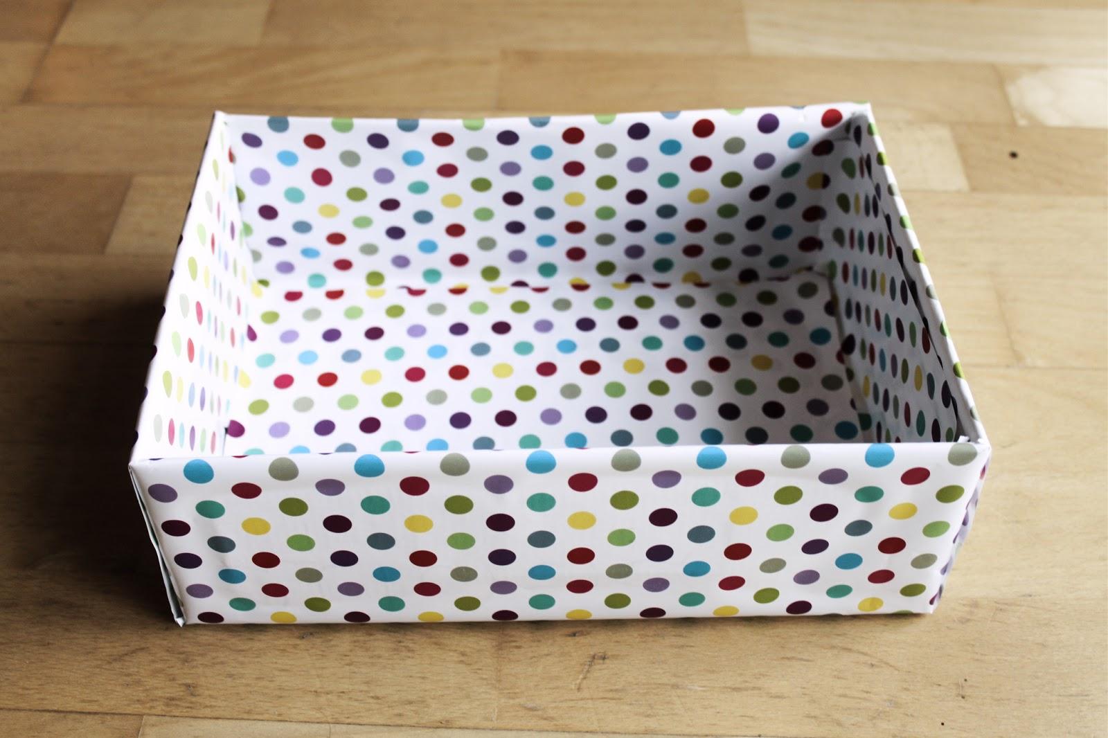 Geschenkboxen basteln