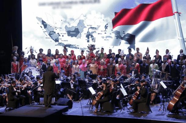 Payung Hukum Aturan Lagu Indonesia Raya