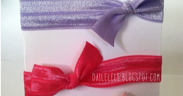 The Daile Lele Diy Elastic Ribbon Hair Ties